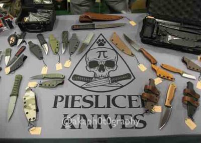 Show exhibitor PieSlice Knives