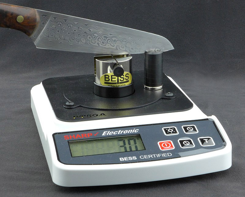 knife sharpness tester machine